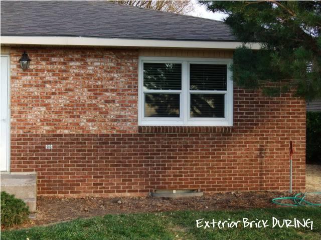 stain exterior brick suede sofa