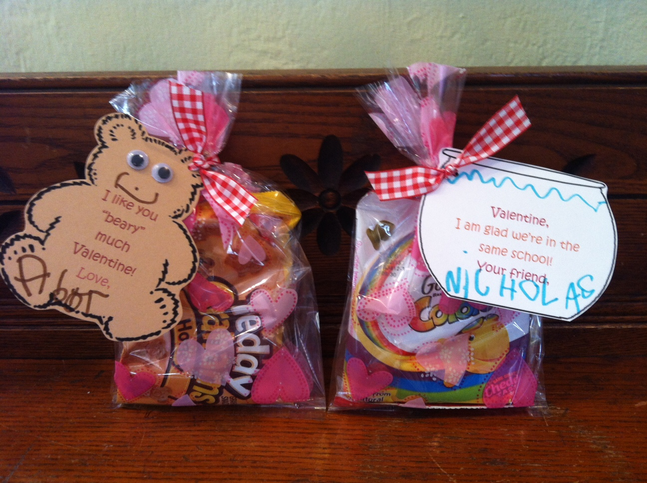 Valentine S Day Treats For Kids With Printable Treat Cards The